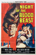 Sci Fi NIGHT OF THE BLOOD BEAST—Widescreen Edition