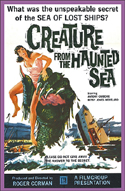 Sci Fi CREATURE FROM THE HAUNTED SEA—Anamorphic Widescreen Edition