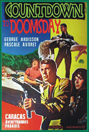 Spies Espionage and Intrigue COUNTDOWN TO DOOMSDAY—Widescreen Edition