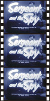 Spies Espionage and Intrigue SERGEANT AND THE SPY, THE