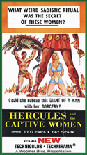 Sword and Sandal HERCULES AND THE CAPTIVE WOMEN—Widescreen Edtion