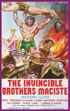 Sword and Sandal INVINCIBLE BROTHERS MACISTE