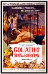 Sword and Sandal GOLIATH AND THE SINS OF BABYLON*