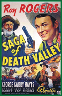 Westerns SAGA OF DEATH VALLEY*