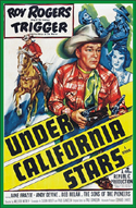 Westerns UNDER CALIFORNIA STARS*