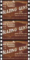 Westerns BLAZING GUNS*