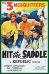 Westerns HIT THE SADDLE - special 35mm edition