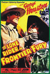 Westerns LONE RIDER IN FRONTIER FURY