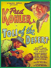 Westerns TOLL OF THE DESERT*