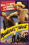 Westerns RAIDERS OF THE WEST*