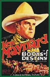 Westerns BOOTS OF DESTINY*