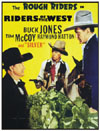 Westerns RIDERS OF THE WEST*