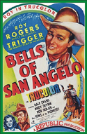 Westerns BELLS OF SAN ANGELO—Uncut Color Edition