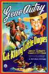Westerns GIT ALONG LITTLE DOGGIES*
