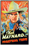 Westerns FIGHTING THRU* (Maynard)
