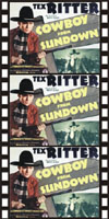 Westerns COWBOY FROM SUNDOWN*