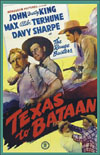 Westerns TEXAS TO BATAAN*