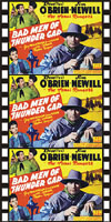Westerns BAD MEN OF THUNDER GAP*