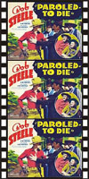 Westerns PAROLED TO DIE