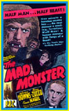 Horror MAD MONSTER, THE*